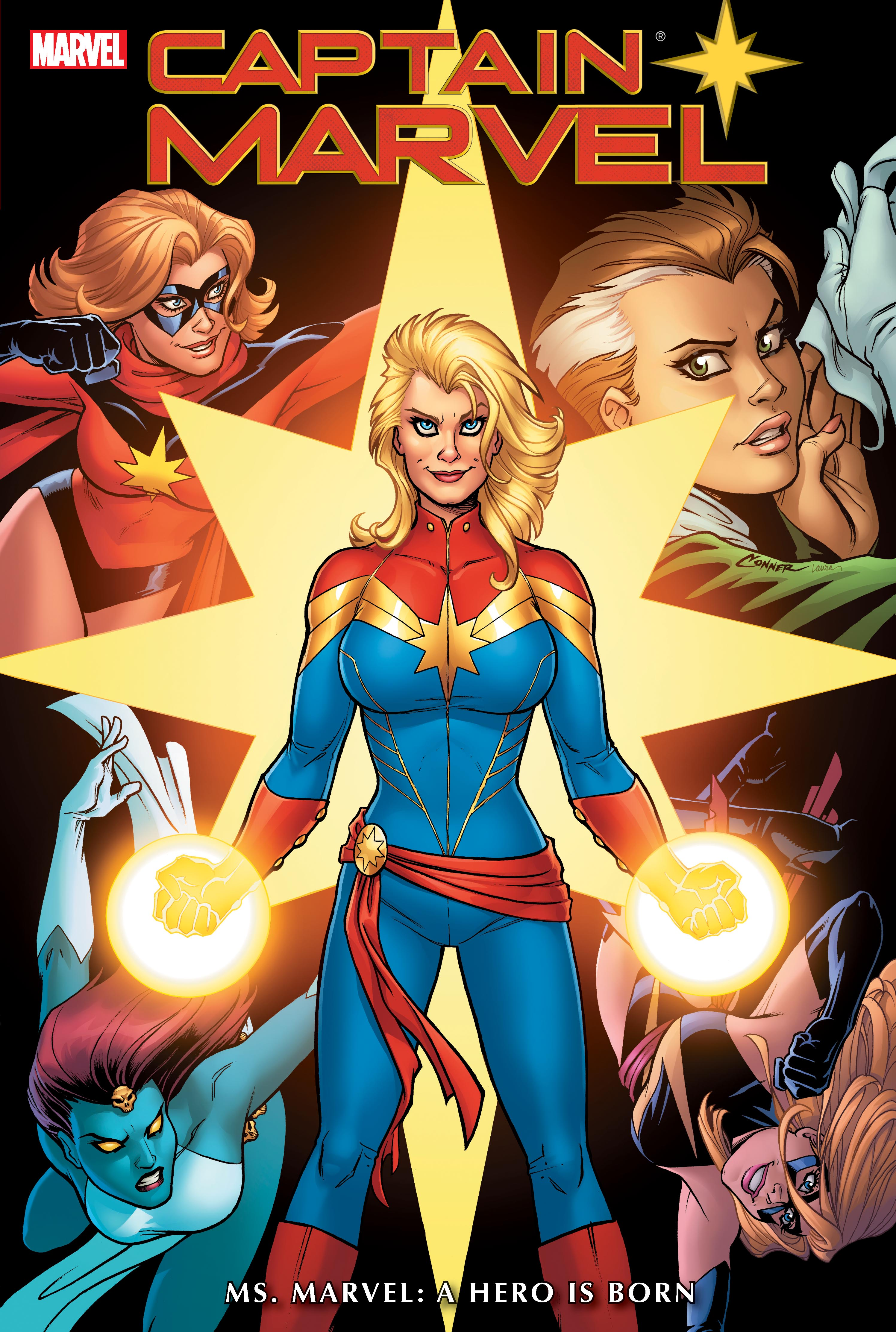 Captain Marvel: Ms. Marvel - A Hero Is Born (Hardcover)
