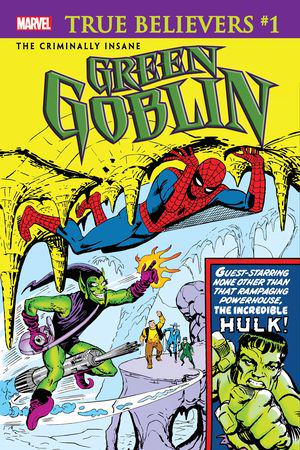 True Believers: The Criminally Insane - Green Goblin #1