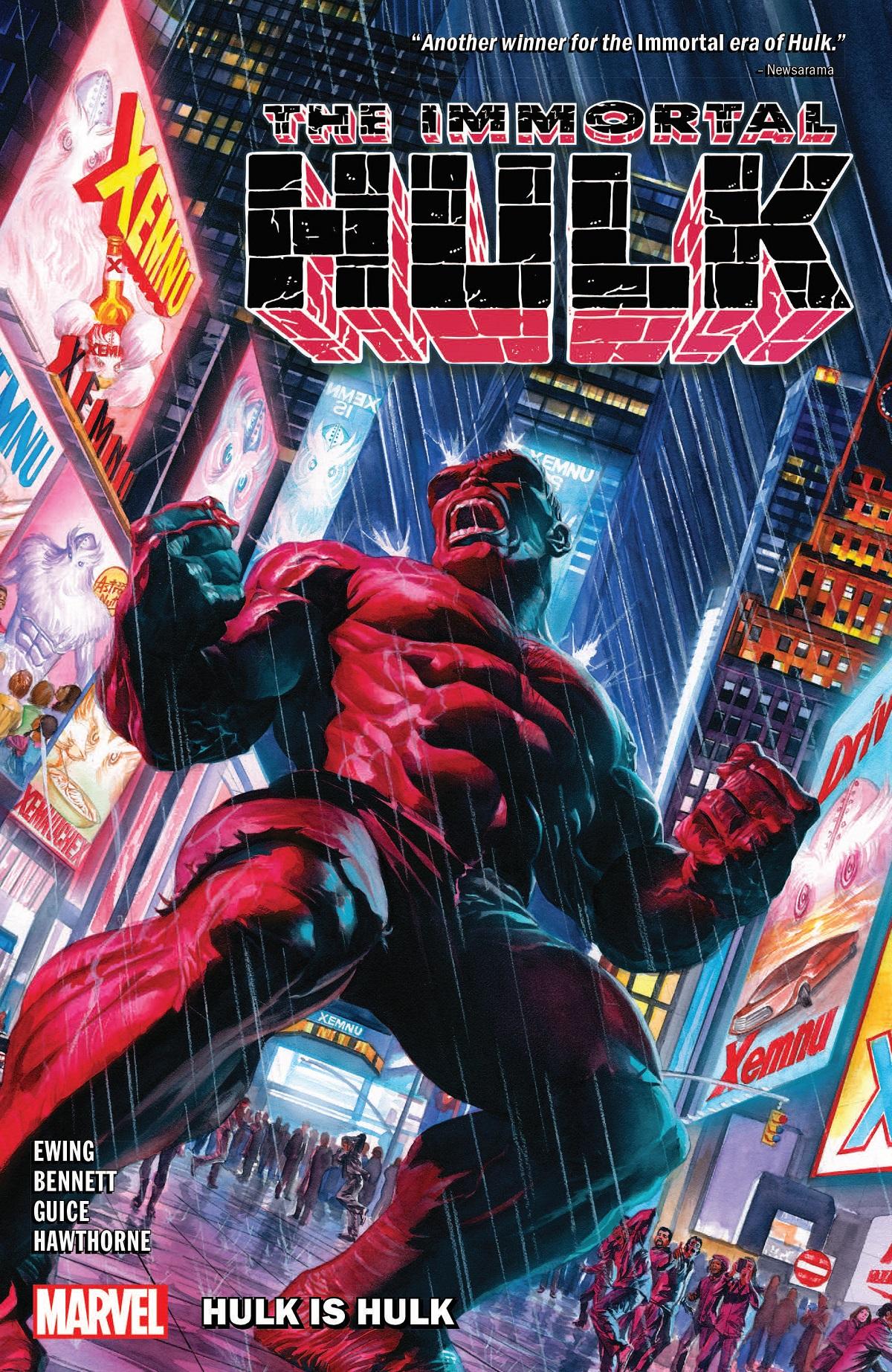 Immortal Hulk Vol. 7: Hulk Is Hulk  (Trade Paperback)