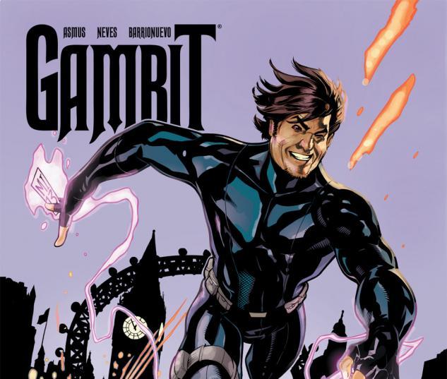 Gambit (2012) #6 Cover
