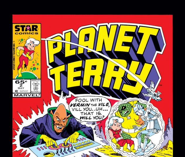 Planet Terry (1985) #2 Cover