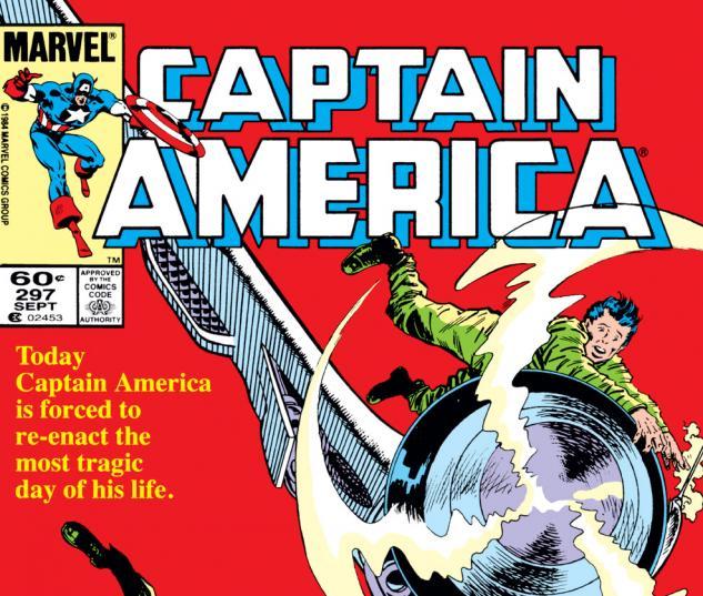 Captain America (1968) #297 Cover