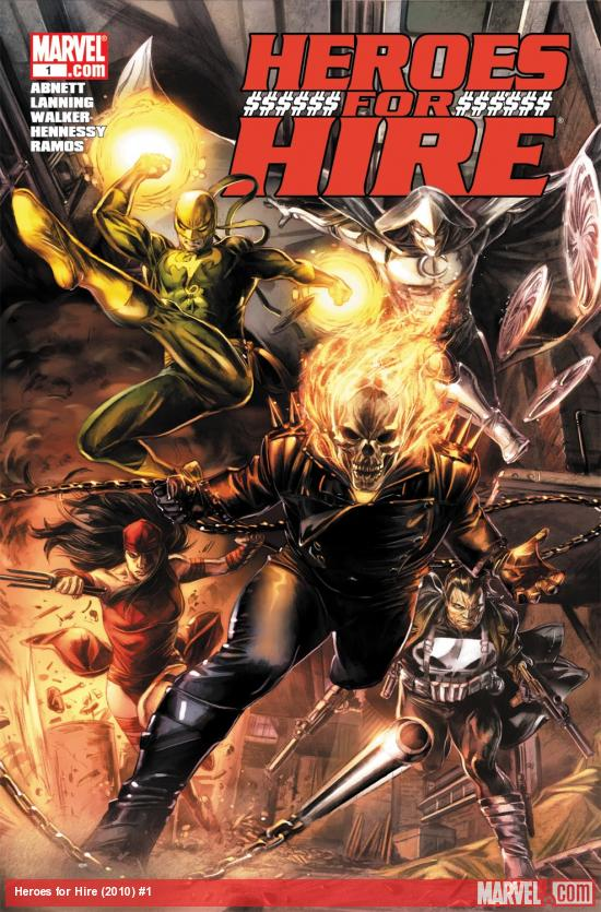 Heroes for Hire (2010) #1