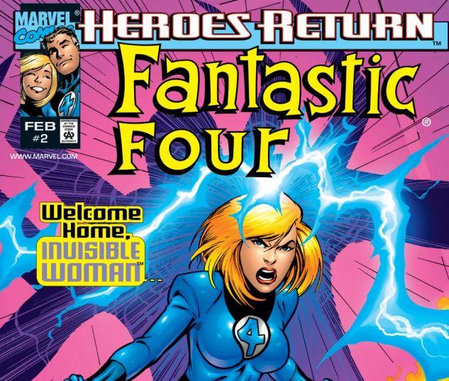 Fantastic Four (1998) #2 Cover
