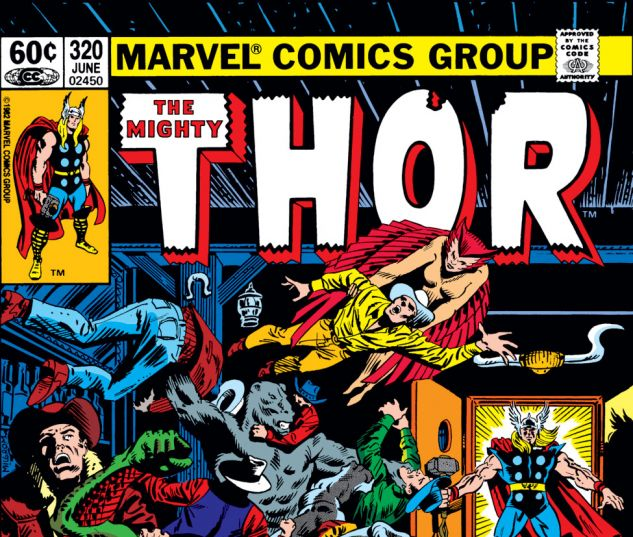Thor (1966) #320 Cover
