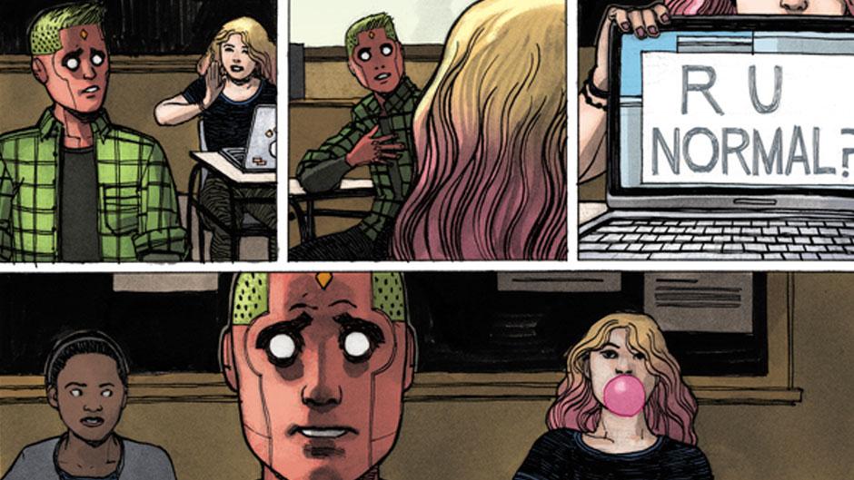 Resultado de imagem para Vision family marvel comics