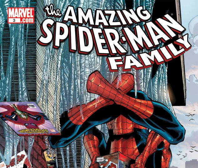 AMAZING SPIDER-MAN FAMILY (2008) #3 Cover