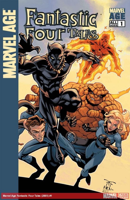 Marvel Age Fantastic Four Tales (2005) #1