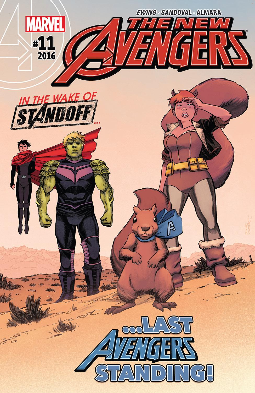 New Avengers (2015) #11
