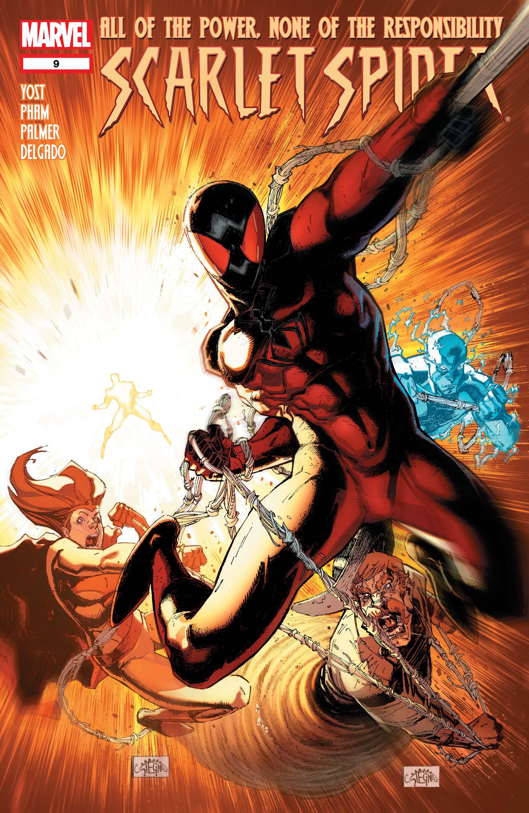 Scarlet Spider (2011) #9