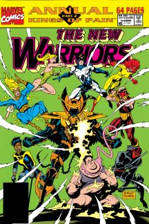 New Warriors Annual (1991) #1