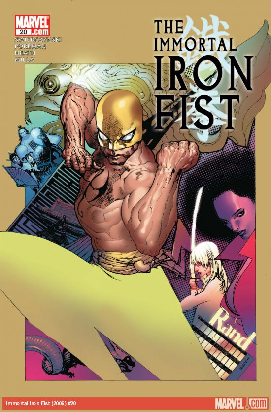Immortal Iron Fist (2006) #20