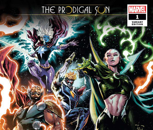 GUARDIANS OF THE GALAXY: THE PRODIGAL SUN 1 TAN VARIANT #1