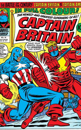Captain Britain (1976) #16