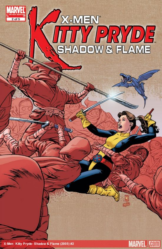 X-Men: Kitty Pryde- Shadow & Flame (2005) #2