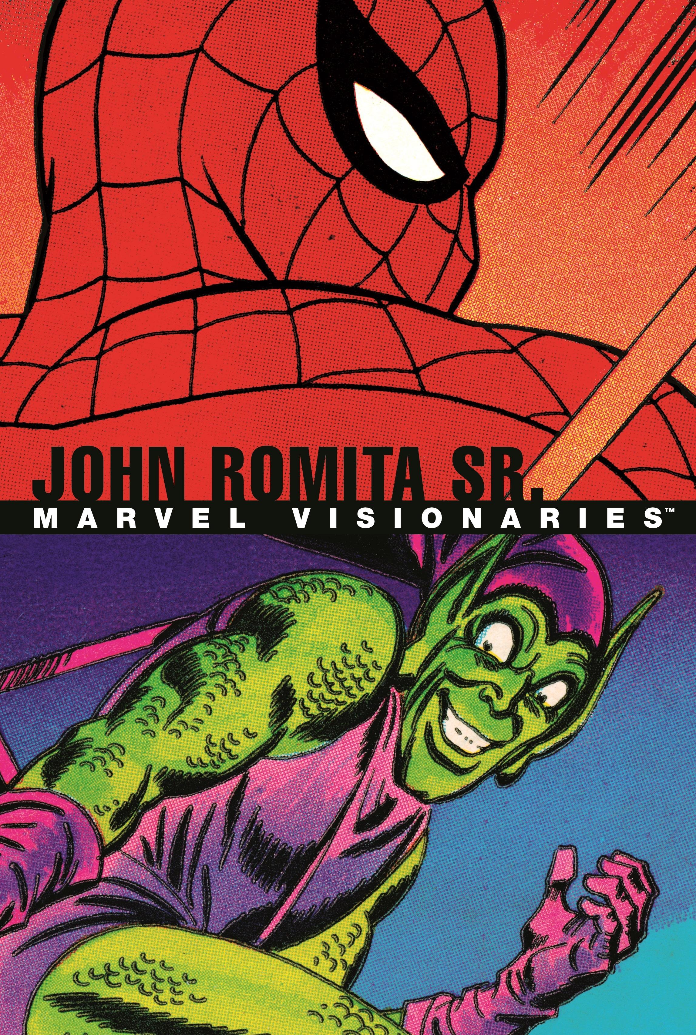 Marvel Visionaries: John Romita Sr. (Hardcover)