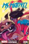 cover from Ms. Marvel Vol. 2 Kids Infinite Comic (2018) #6