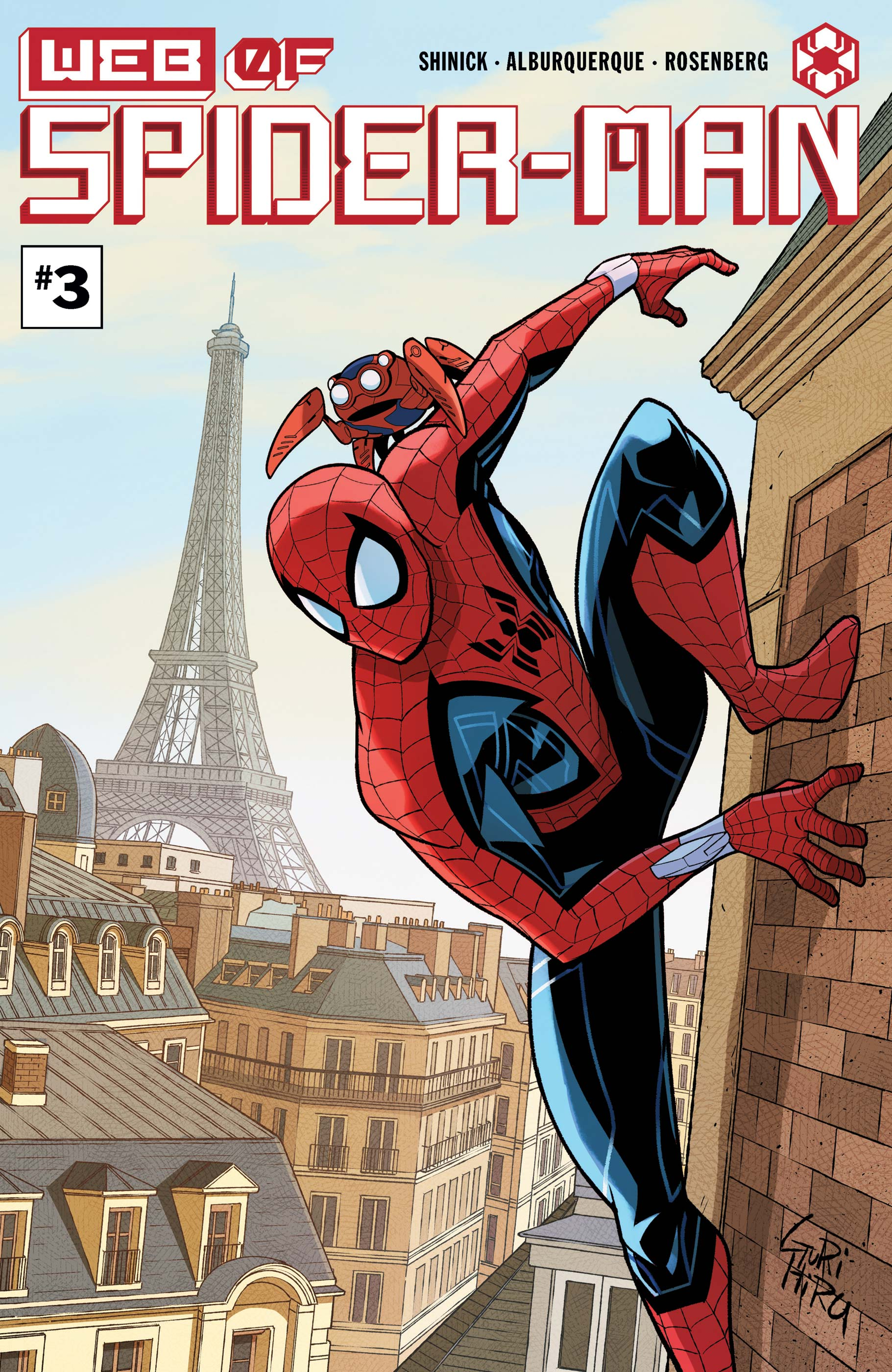 W.E.B. of Spider-Man (2021) #3
