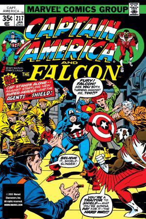 Captain America (1968) #217