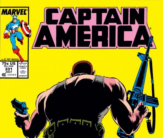 Captain America (1968) #331 Cover
