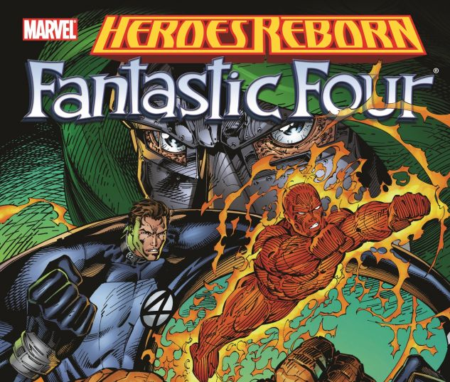HEROES REBORN: FANTASTIC FOUR 0 cover