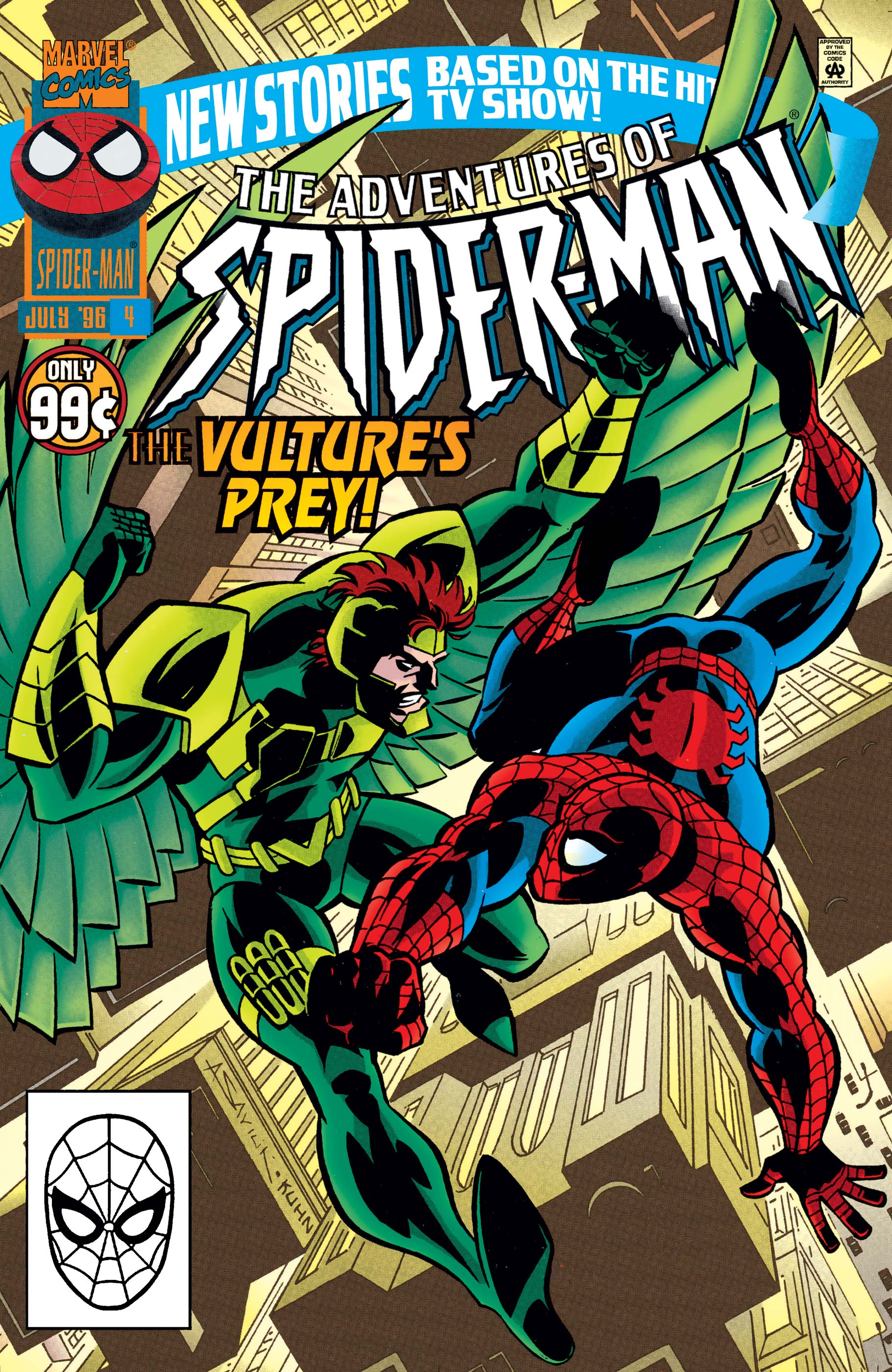 Adventures of Spider-Man (1996) #4