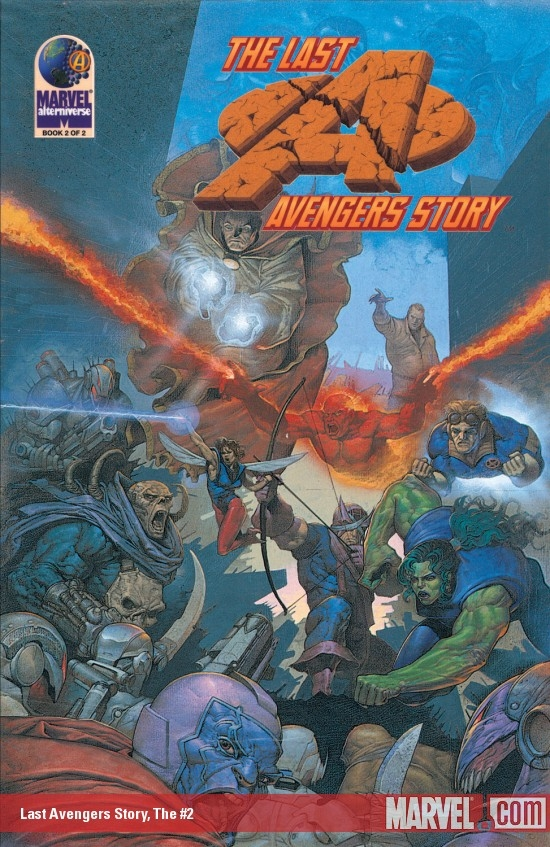 The Last Avengers Story (1995) #2