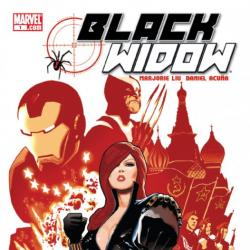 BLACK WIDOW #1 cover by Daniel Acuna