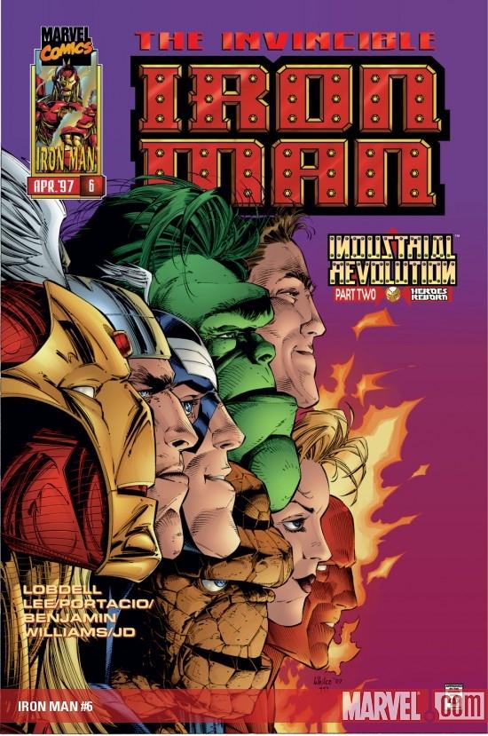 Iron Man (1996) #6