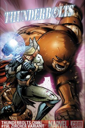 Thunderbolts (2006) #150 (ZIRCHER VARIANT)