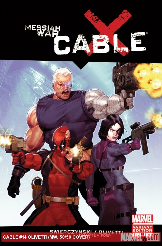 Cable (2008) #14 (MW, 50/50 Variant)