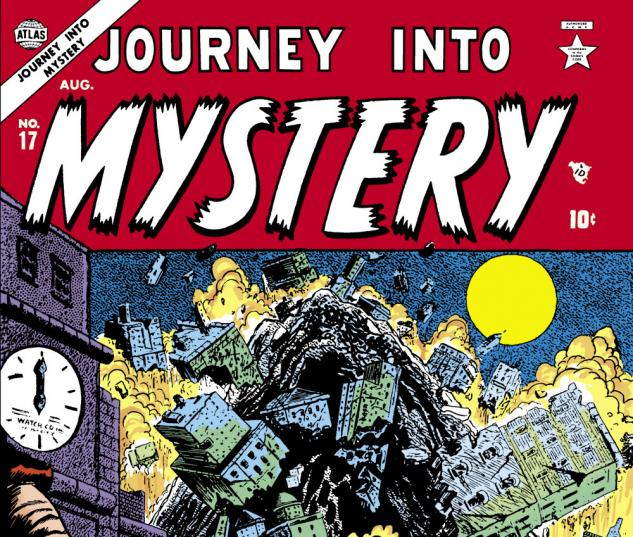 Journey Into Mystery (1952) #17 Cover