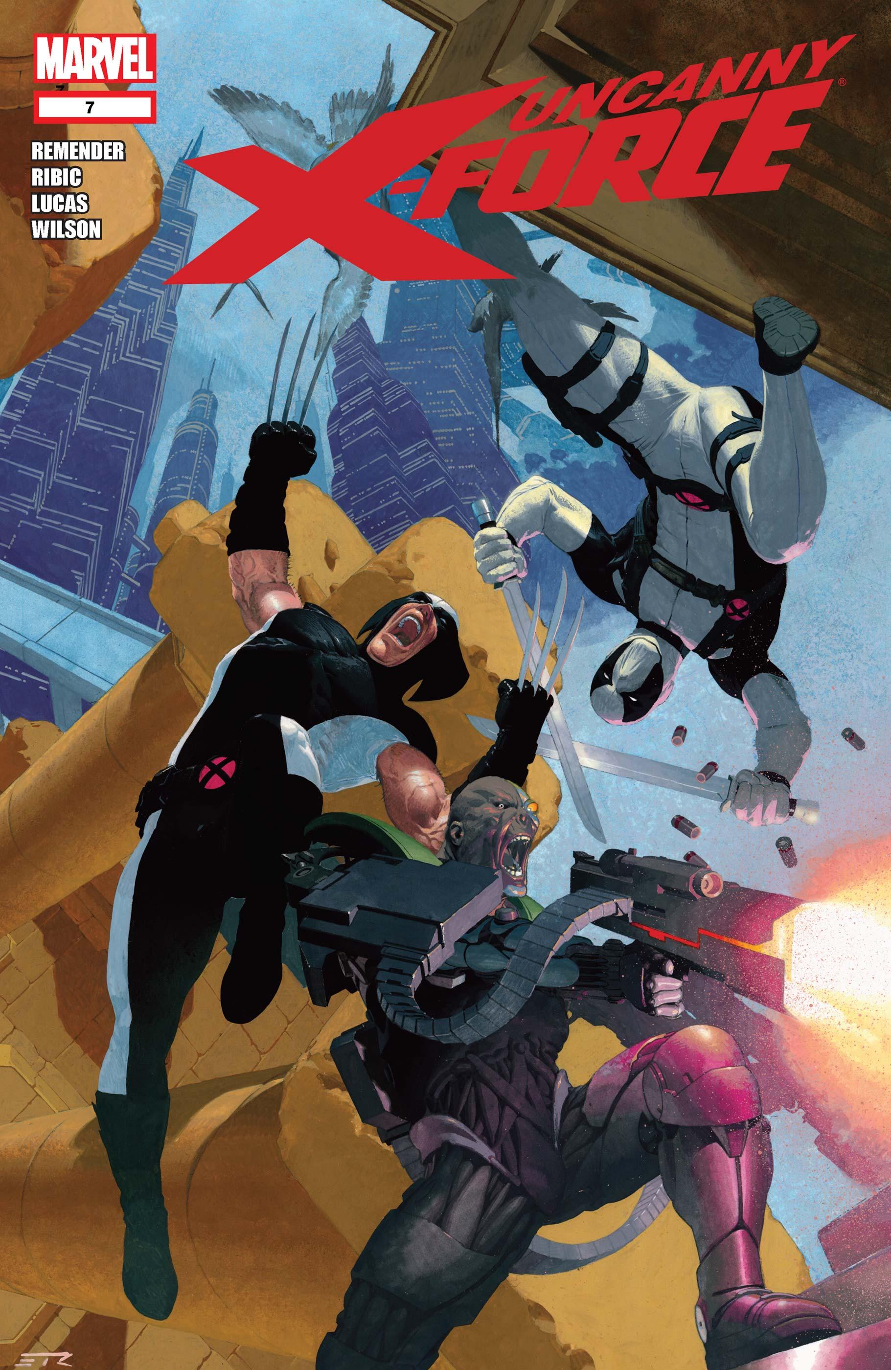 Uncanny X-Force (2010) #7