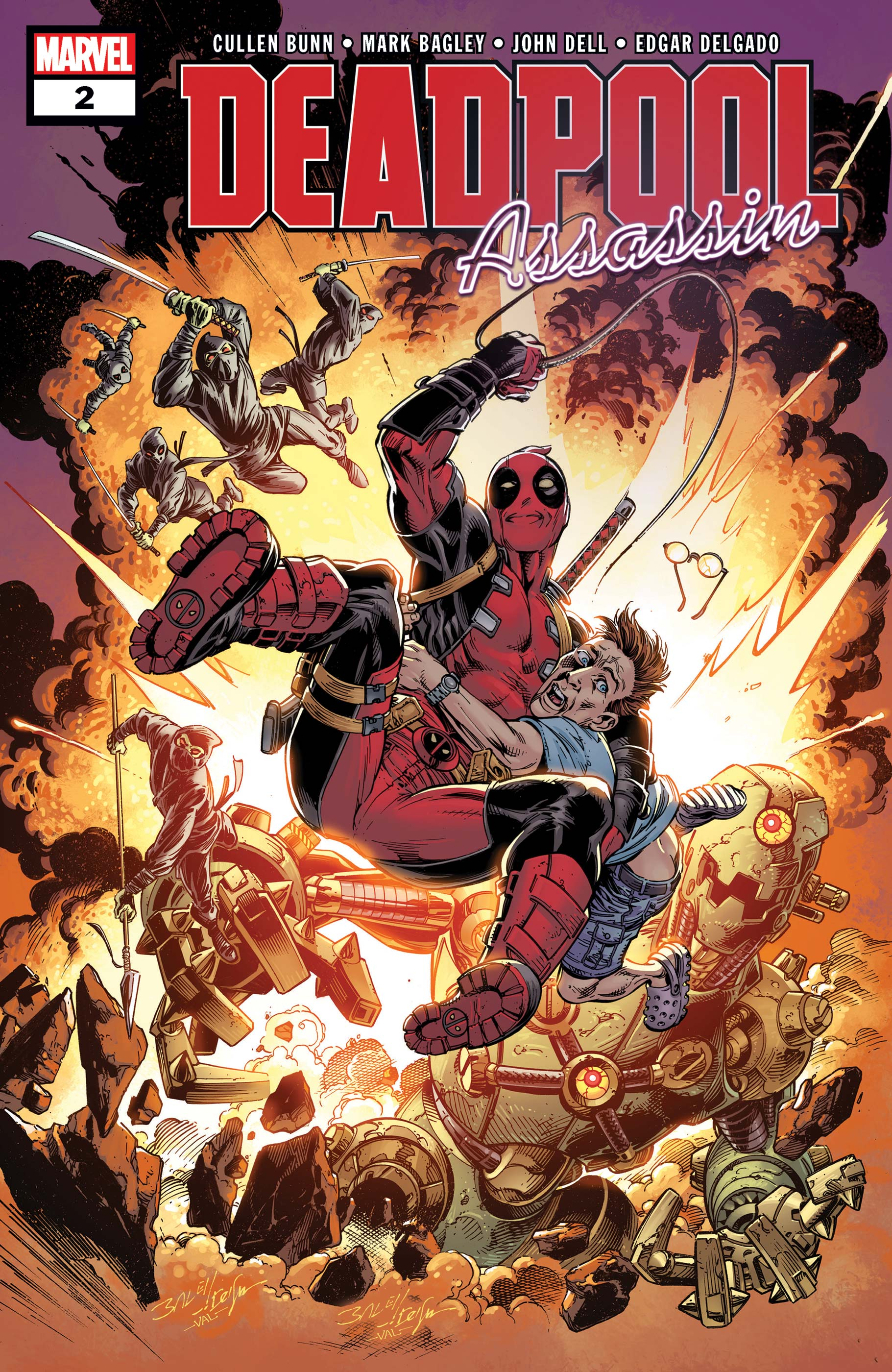Deadpool: Assassin (2018) #2