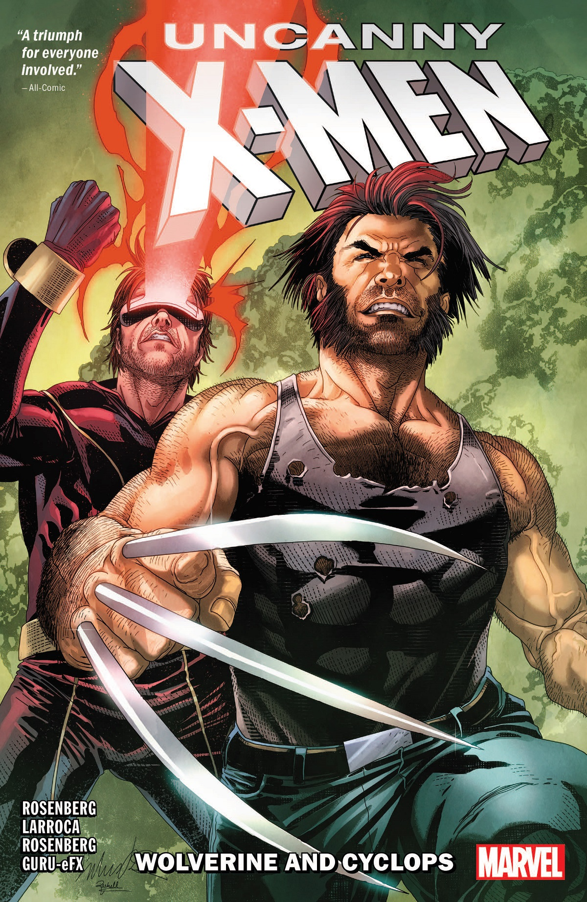 UNCANNY X-MEN: WOLVERINE AND CYCLOPS VOL. 1 TPB (Trade Paperback)