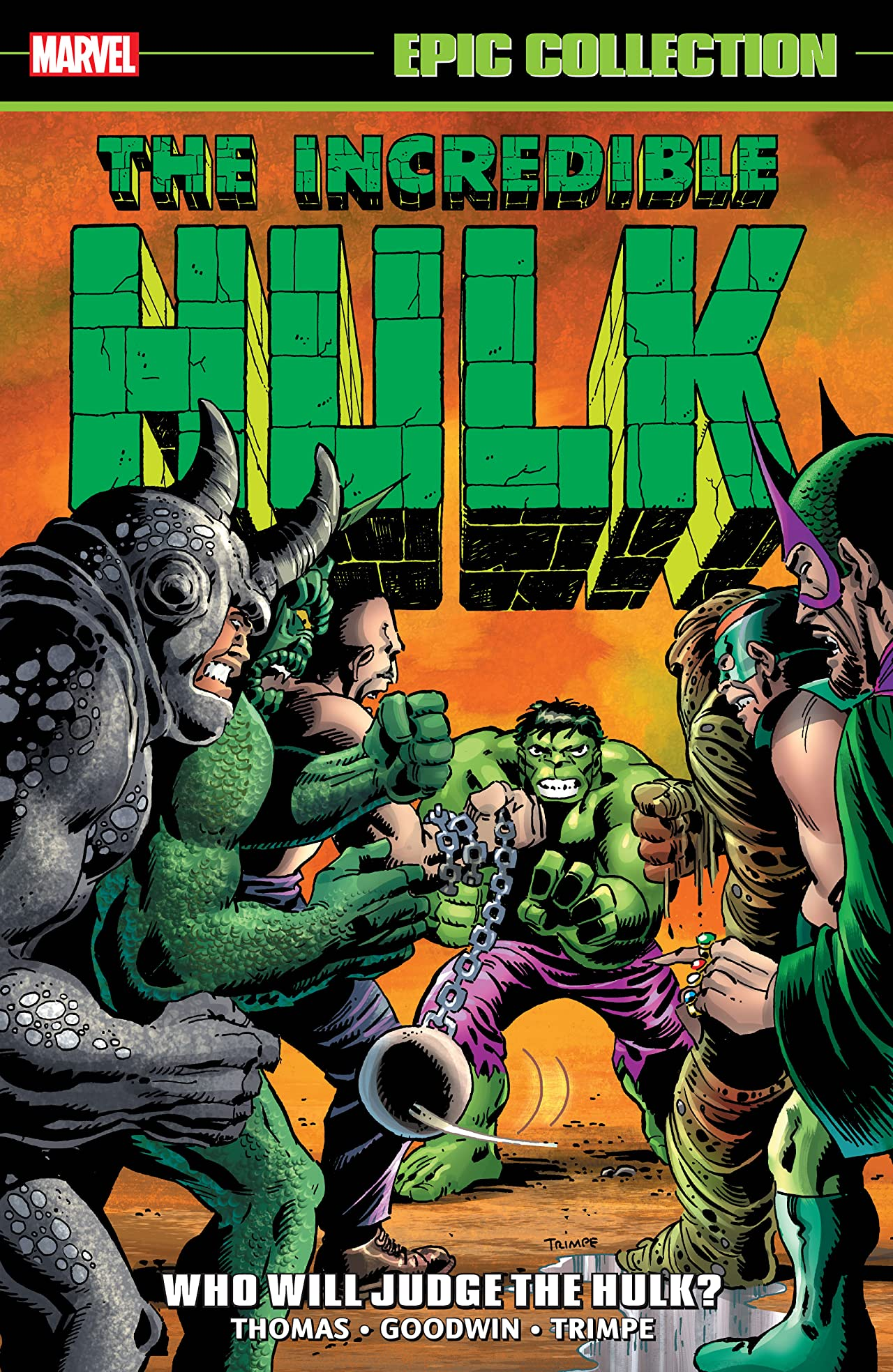 Incredible Hulk Epic Collection: Who Will Judge The Hulk? (Trade Paperback)