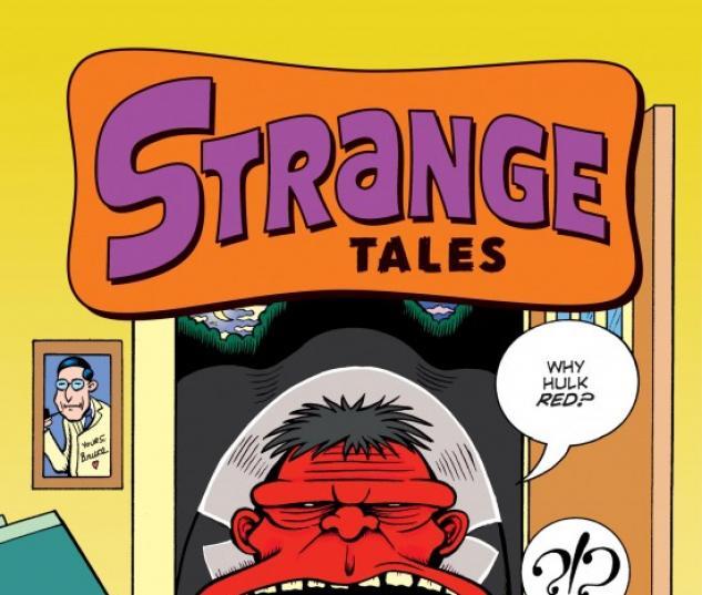 STRANGE TALES #2 Red Hulk Variant Cover