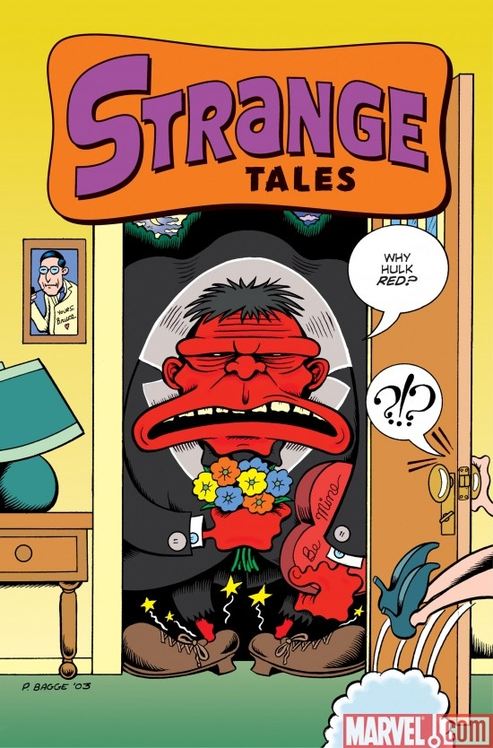 Strange Tales (2009) #2 (RED HULK VARIANT)