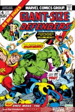 Giant-Size Defenders (1974) #4 cover