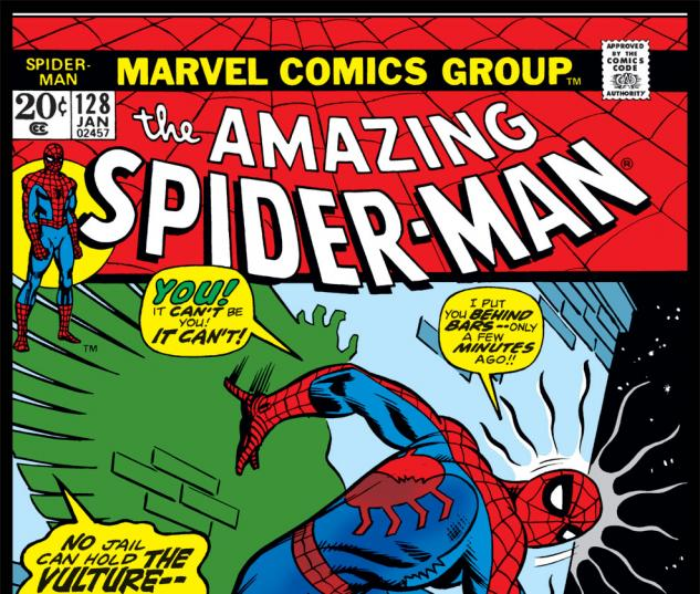 Amazing Spider-Man (1963) #128 Cover