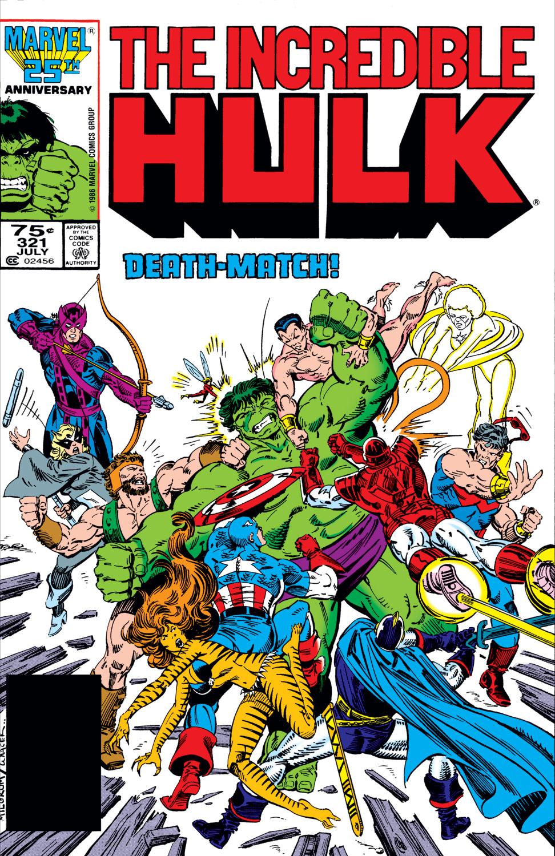 Incredible Hulk (1962) #321
