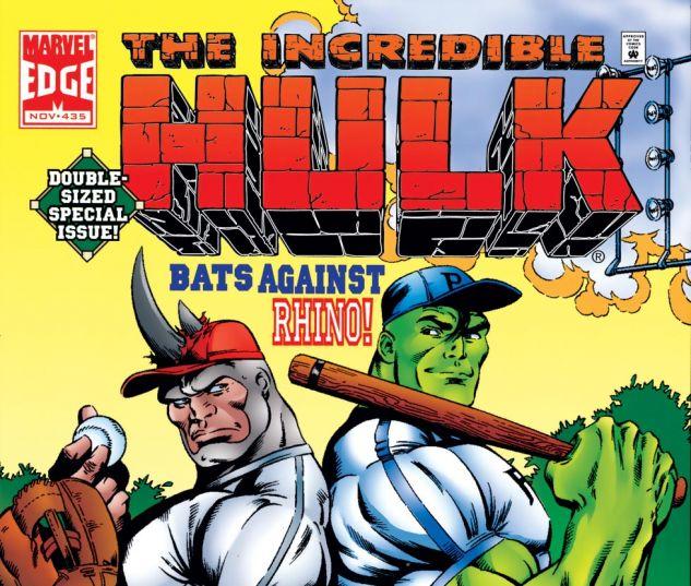 Incredible Hulk (1962) #435 Cover