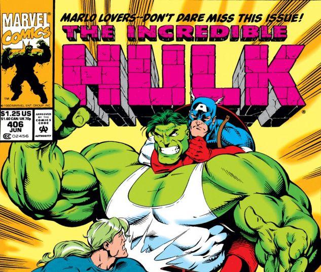 Incredible Hulk (1962) #406 Cover