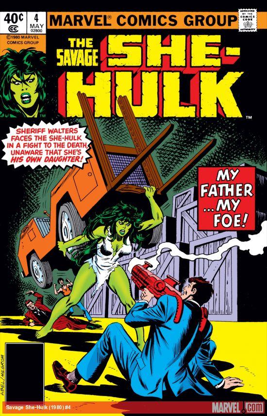 Savage She-Hulk (1980) #4