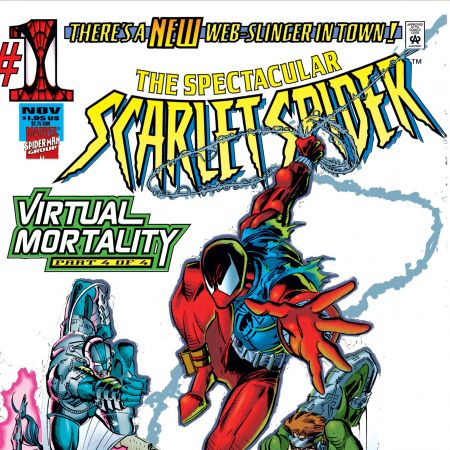 Cover for THE SPECTACULAR SCARLET SPIDER 1