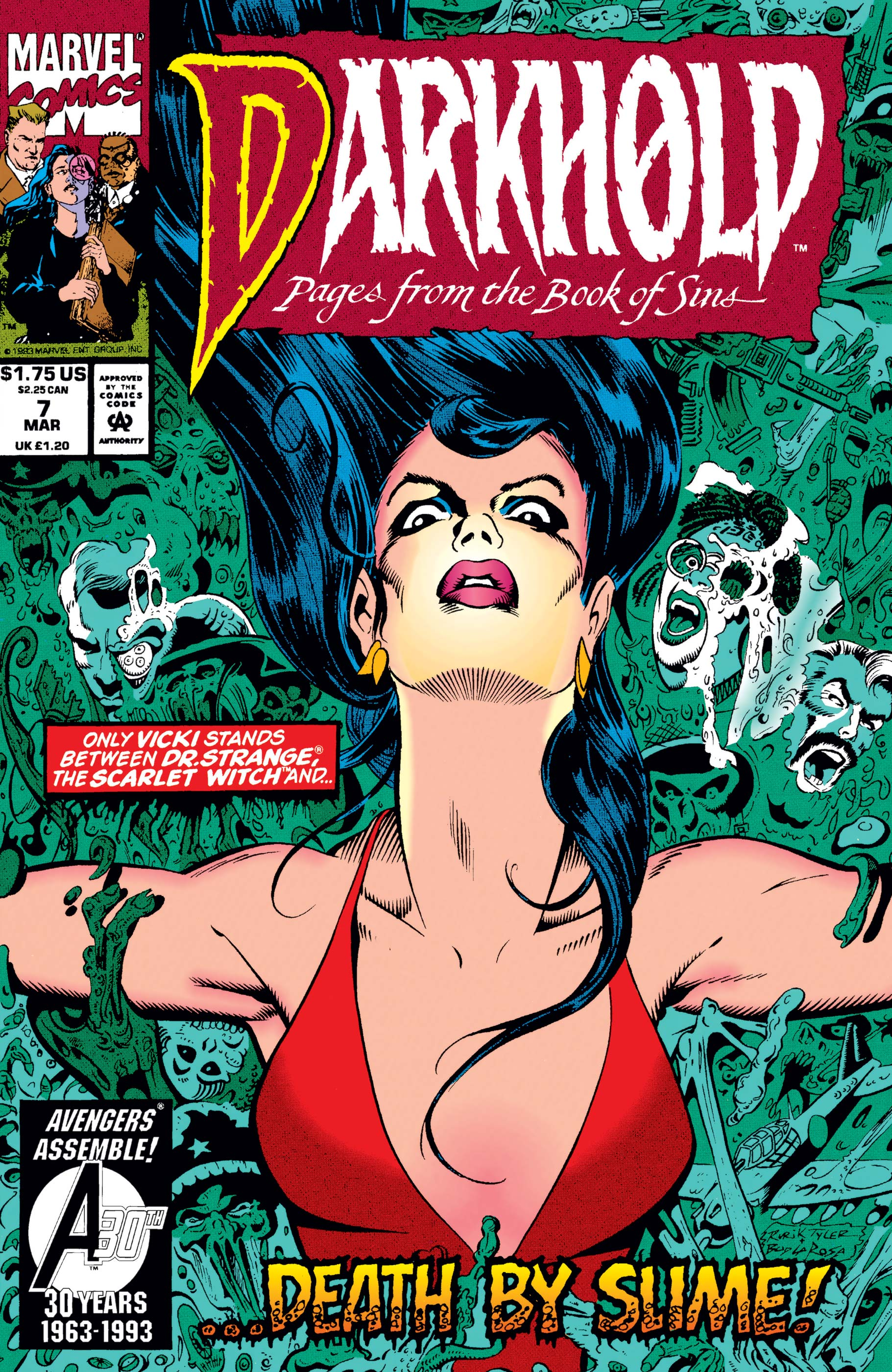 Darkhold: Pages from the Book of Sins (1992) #7