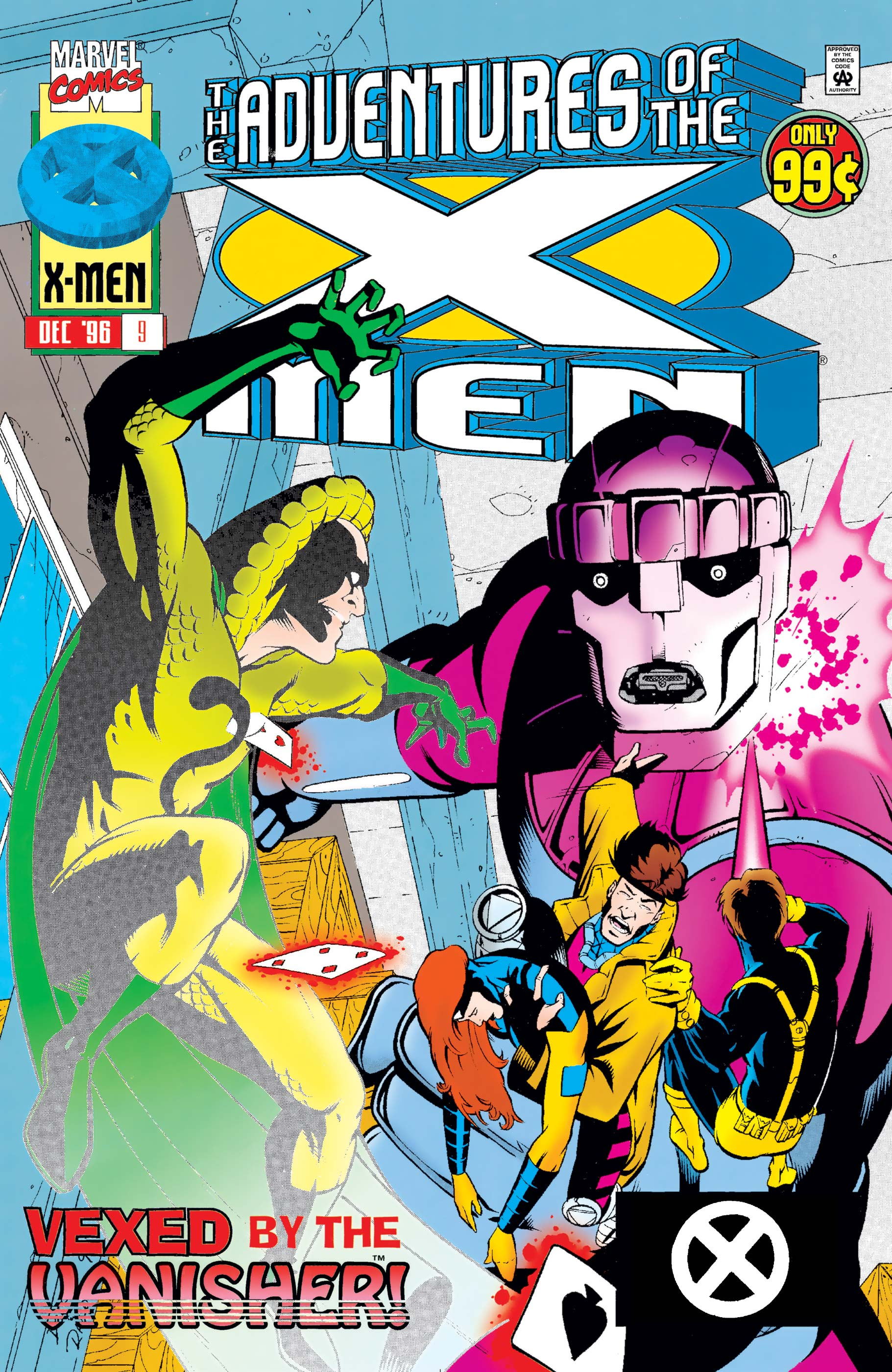 Adventures of the X-Men (1996) #9