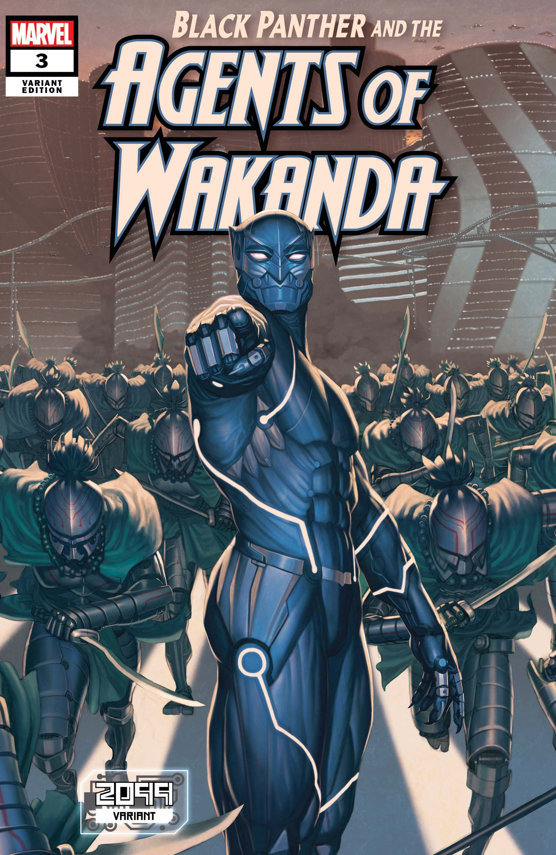 Black Panther and the Agents of Wakanda (2019) #3 (Variant)