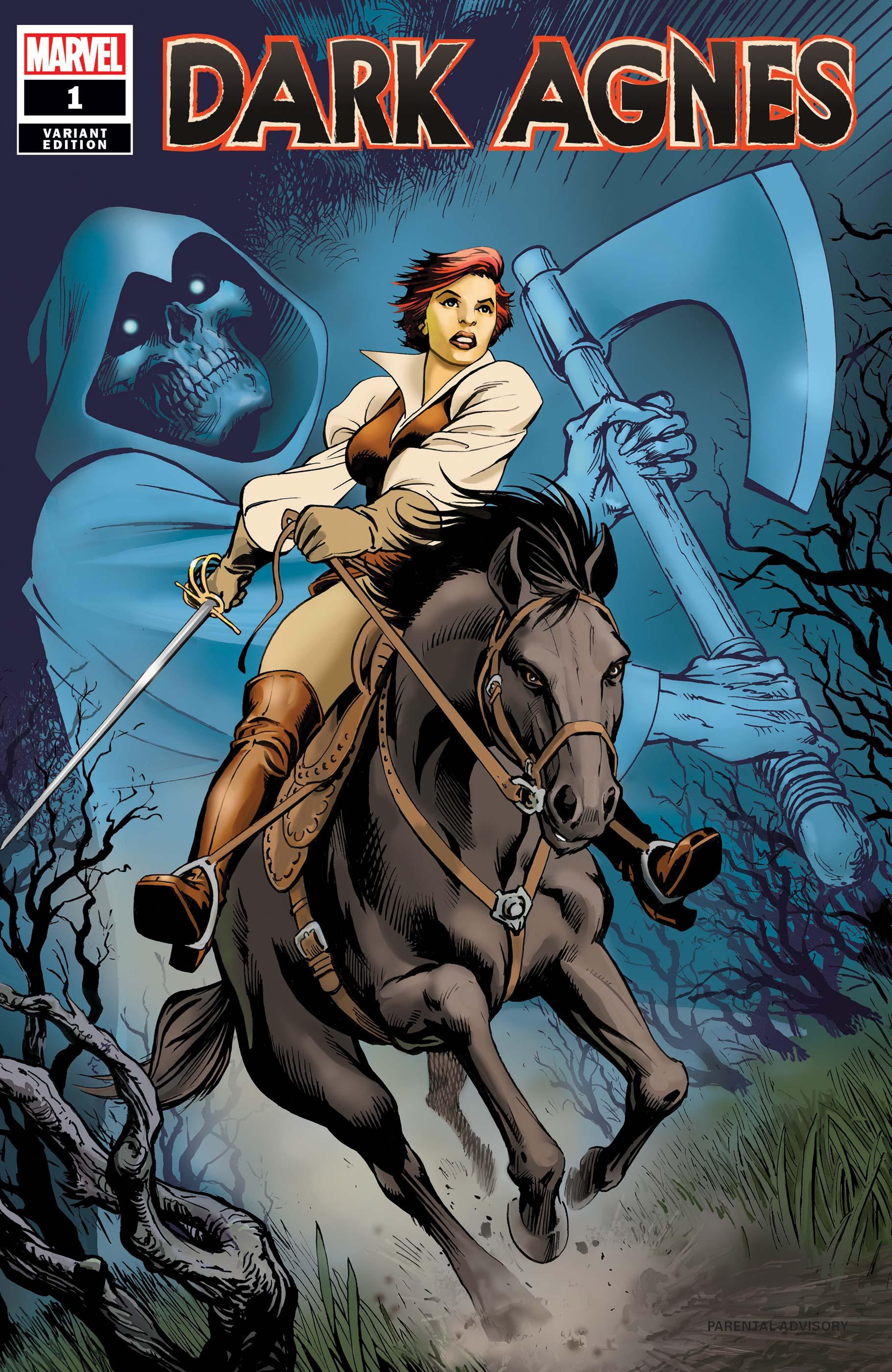 Robert E. Howard's Dark Agnes (2020) #1 (Variant)