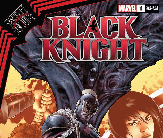 KING IN BLACK: BLACK KNIGHT 1 SAIZ VARIANT #1